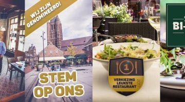 Restaurant Bi-j Siem genomineerd voor Leukste Restaurant 2017