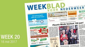 Weekblad voor Nederweert (Week 20)