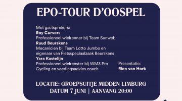 Topprogramma bij Wielercafé EPO – Tour d'Oospel 2017
