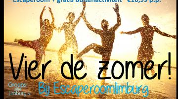 Zomer Actie bij Escaperoom Limburg