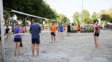 Geslaagd Beach Volleybal Toernooi van VC Fortutas (Foto's)