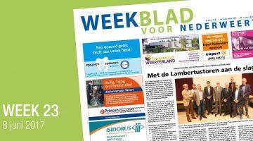 Weekblad voor Nederweert (Week 23)