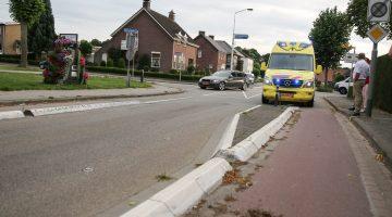 Man gevallen met fiets in Ospel