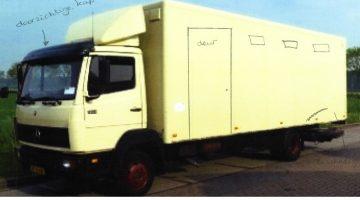 Vrachtwagen gestolen in Roggel