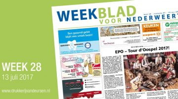 Weekblad voor Nederweert (Week 28)