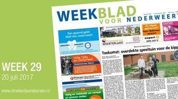 Weekblad voor Nederweert (Week 29)