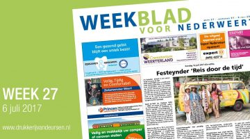Weekblad voor Nederweert (Week 27)