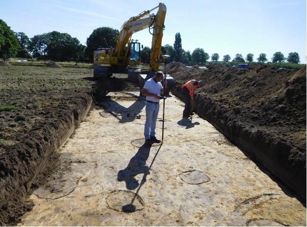 Archeologische vondst leidt naar middeleeuws Hushoven - Nederweert24 (Blog)