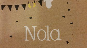 Nola is geboren