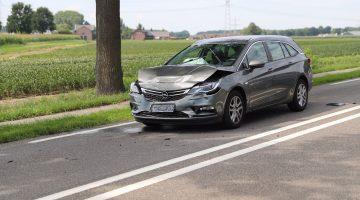 Drie ongevallen op N280 bij Baexem