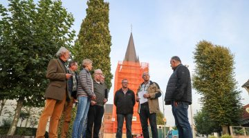 Mooie donatie voor restauratie kerktoren Ospel