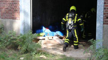 Buurtbewoner ontdekt 50 vaten drugsafval