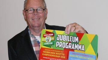 44 jarig jubileum vastelaovundj vereiniging De Pinmaekers