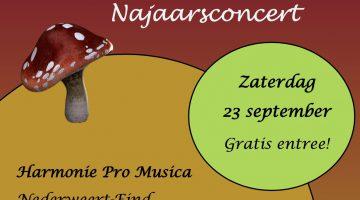 Najaarsconcert Harmonie Pro Musica