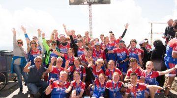 Toons Toppers op de Top van de Mont Ventoux