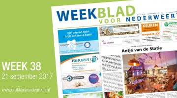Weekblad voor Nederweert (Week 38)