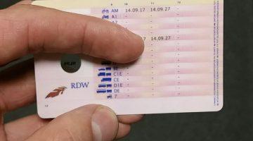 Na 1,5 maand rijbewijs al weer kwijt