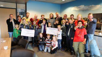 Donatie aan Scouting Nederweert en Jong Nederland Nederweert
