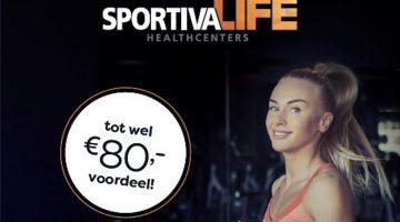 Uniek bij SportivaLife!