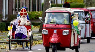 Intocht Sinterklaas in Ospel