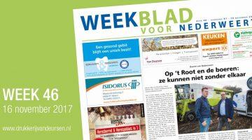 Weekblad voor Nederweert (Week 46)