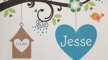 Jesse is geboren