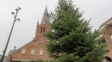 Kerstbomen ophalen gemeente Nederweert