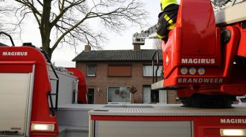 Schoorsteenbrand in Nederweert-Eind