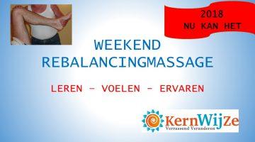 Weekend Rebalancingmassage