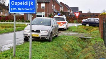 Weer een verlaten auto aangetroffen in Ospeldijk