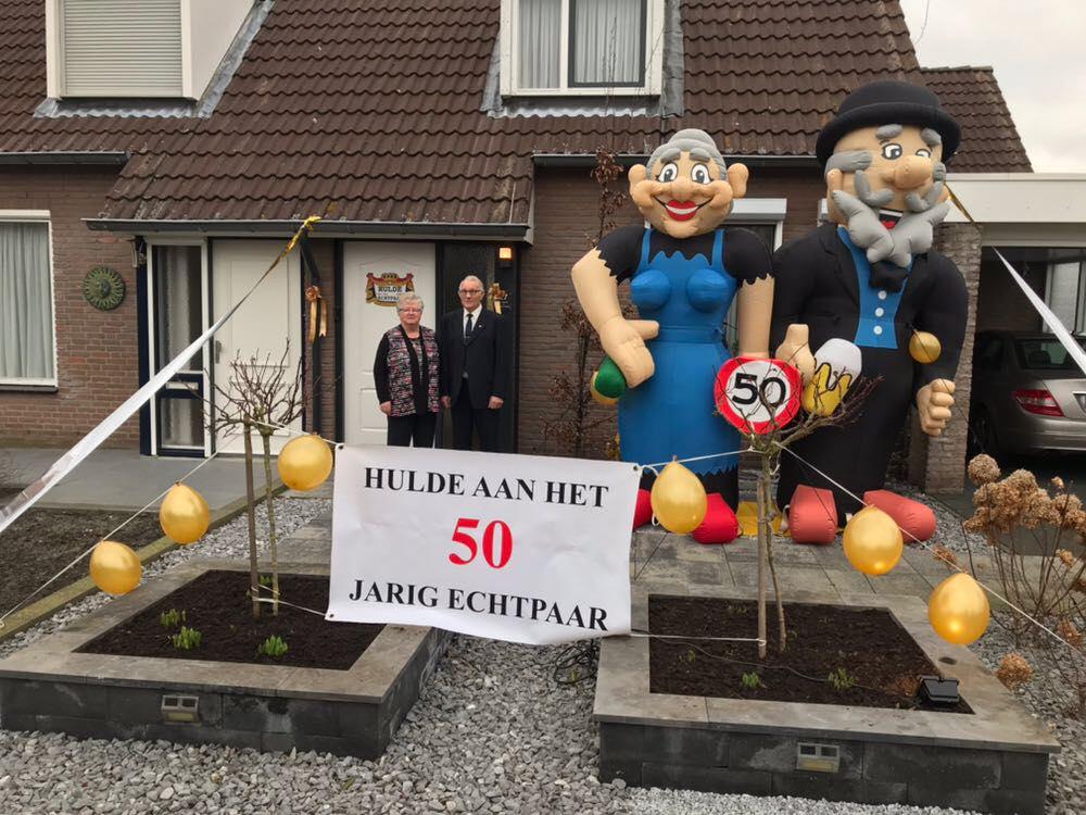 Verrassend Ber en Annie 50 jaar getrouwd - Nederweert24 TD-21