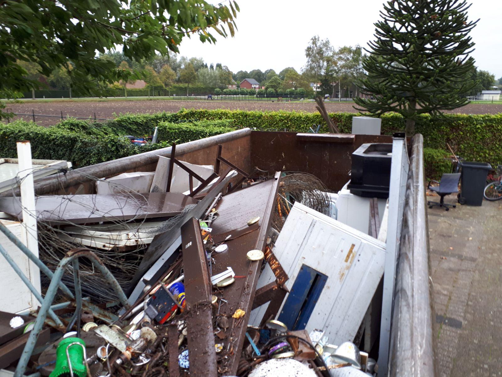 Oud ijzer actie St. Odilia Ospeldijk - Nederweert24 - Nederweert24