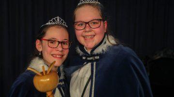 Jada en Merel Prinsessenpaar van BS De Bongerd