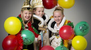 Receptie voor jubileum  jeugdprinsepaar van Nederweert