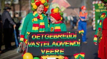 Carnavalsoptocht in Ell