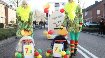 Kleurrijke carnavalsoptocht Nederweert 2018 (Foto's Deel I)