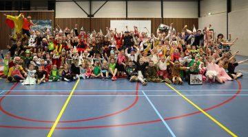 Prinsen & Prinsessen bezoeken MEOS Handbal Nederweert (Foto's)