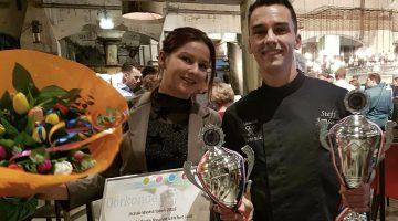 Steff Janssen van IJssalon Florence wint 'De Gouden IJscreatie 2018'