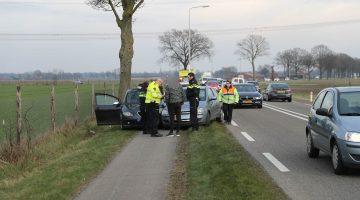 Verkeersruzie eindigt met flinke schade