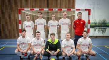 Zaalvoetbalvereniging 't Brökske 1 op rolletjes (Foto's)