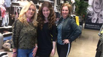 Cindy 13 jaar franchisenemer Shoeby Nederweert