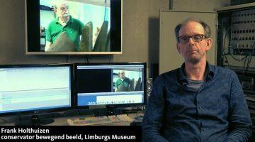 Lezing Frank Holthuizen, conservator bewegend beeld