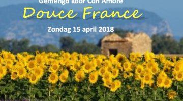 "Gemengde Zangvereniging Con Amore presenteert ""Douce France"""
