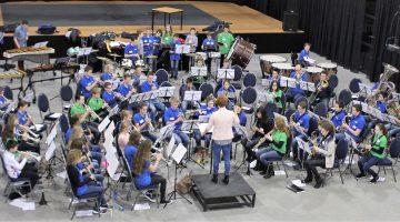 100 jeugdige muzikanten Binden, Boeien én Behouden
