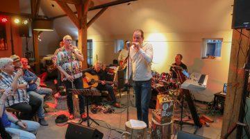21Boeket Blues Band opent Peelpodiumseizoen (Foto's)