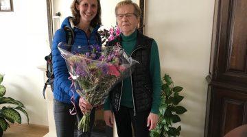 Bloemen voor mantelzorger maand april
