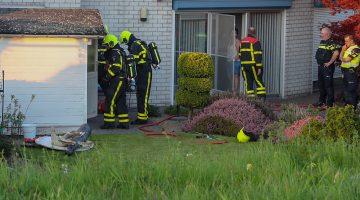 Brand in tuinhuisje Weert