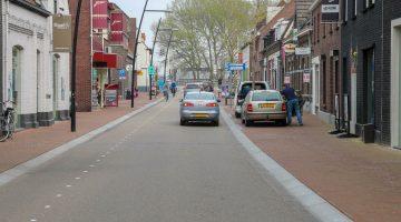Start werkzaamheden voor omdraaien rijrichting Brugstraat