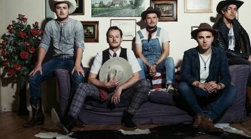 The Hillbilly Moonshiners Bluegrass Band op Raadpop 2018