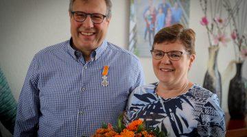 Jos Thijssen ontvangt Koninklijke Onderscheiding